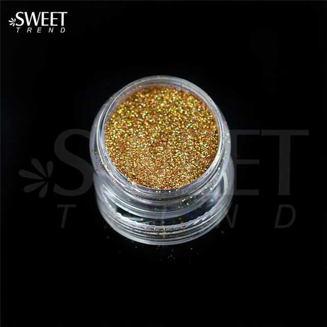 $4.62 1 x 3g Jar Shiny Laser Holographic Nail Glitter Dust Powder ...