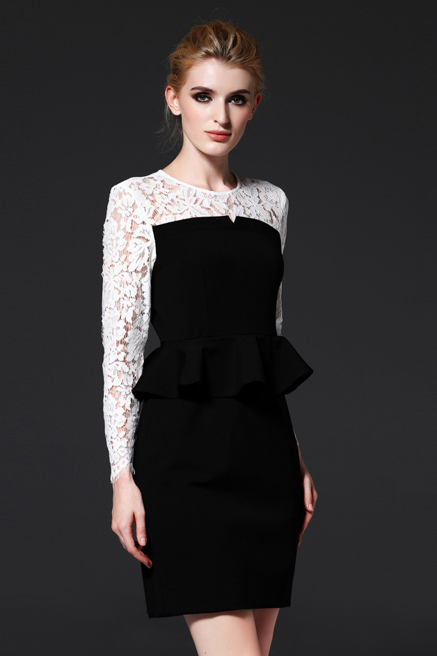 Shop for a Women's Black Peplum Dress or a Juniors Black Peplum Dress at Macy's. Macy's Presents: The Edit - A curated mix of fashion and inspiration Check It Out Free Shipping with $49 purchase + Free Store Pickup.
