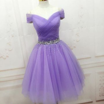 Short Purple Dresses