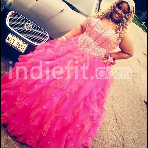 $172.99 Cheap Long Plus Size Pink A-line Sweetheart Sleeveless ...