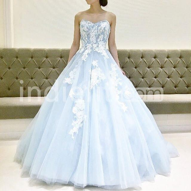 Baby Blue Homecoming Dresses 2019