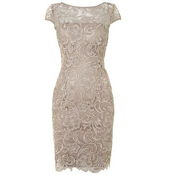 Short Mother of the Bride Dresses with Sleeves
