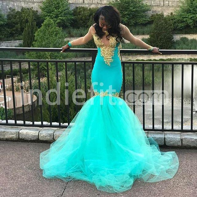 139 99 Long Prom Dresses 2019 Mermaid Long Sleeves Open