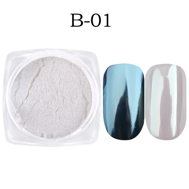 $4.79 1g Nail Art Glitter Chrome Powder Decorations Mirror Nail ...