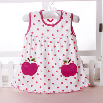 5defc52f8  10.69 2019 Cute Vestido infantil Baby Girl Dress Cotton Regular ...