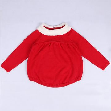 8eeb118e42ae  27.34 2019 Autumn Long Sleeve Baby Girl Romper Knitted Dress 0-5Yrs  Knitted Baby Rompers Cotton Children Clothes Toddlers Jumpsuits
