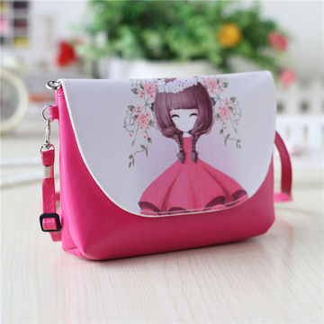9f12f3dc669d  17.54 2019 New Cartoon printing Women bag Female PU leather Mini Crossbody  Shoulder bags Girls Messenger bag bolsa feminina B075