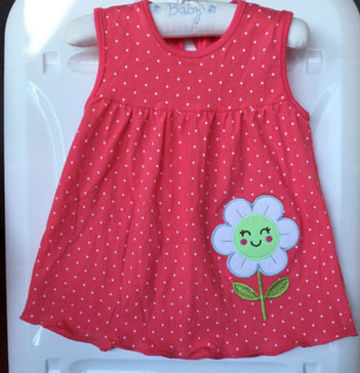 3c161906b33f9 2019 New Summer Baby Girl Dress Princess 0-1 Year Birthday Infant Girl Dot  Newborn Dresses Baby Girls Cutton Clothes