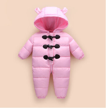 ac670ff65  37.44 2019 baby winter clothes down thick warm Hooded baby ...