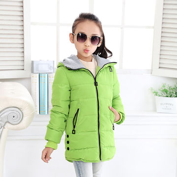 3eedb3bab  29.92 2017 spring Winter jacket for girls clothes Cotton Padded ...