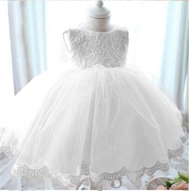 $18.98 2017 vintage Baby Girl Dress Baptism Dresses for Girls 1st ...