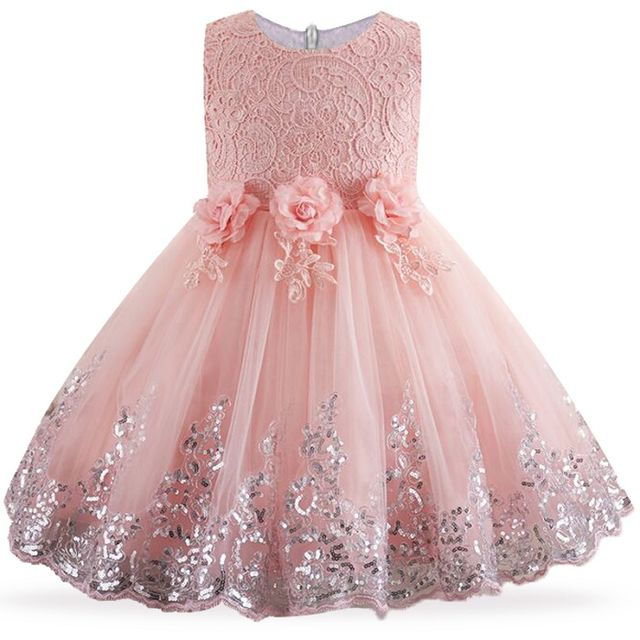 $22.87 2018 Lace Sequins Formal Evening Wedding Gown Tutu Princess ...
