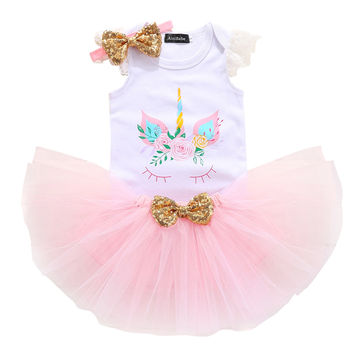 3efc23f1c4  16.88 2019 Newborn Cute Dress For Baptism Summer Baby Girl Lace  Christening Gown Dress Toddler First Birthday Party Infant Wear