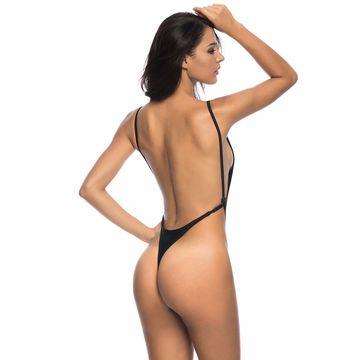 c772662fbfe $26.97 2019 Sexy White high cut Leg thong one piece swimsuit ...