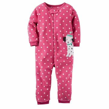 Christmas Jumpsuit Pajamas.2019 Christmas Baby Girl Clothes Soft Fleece Kids One Pieces Jumpsuits Pajamas 0 24m Infant Girl Boys Clothes Baby Costumes