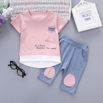 56c83724b  18.90 2PC Toddler Baby Boys Clothes Outfit Infant Boy Kids Shirt ...