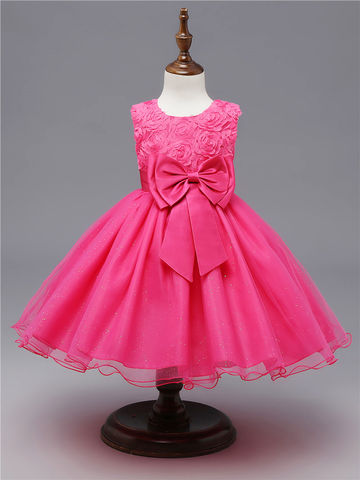 f56f2bbd1 AU 25.99 5-14 Years Kids Dress for Girls Wedding Tulle Lace Long ...