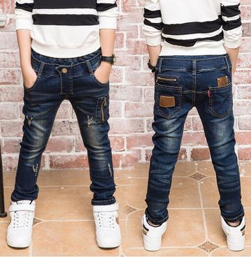 e3f6aa665 Hot Sale Spring and autumn Boy jeans,Children Thin section jeans. Suitable  3 4 5 6 7 8 9 10 11 12 13 14 years old