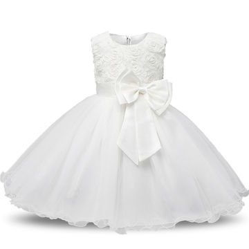 95e462dc78eec Aini Babe 1 Year Birthday Party Little Dress Baby Girl Christening Gowns  Kids Events Party Wear Clothes Girls Boutique Clothing