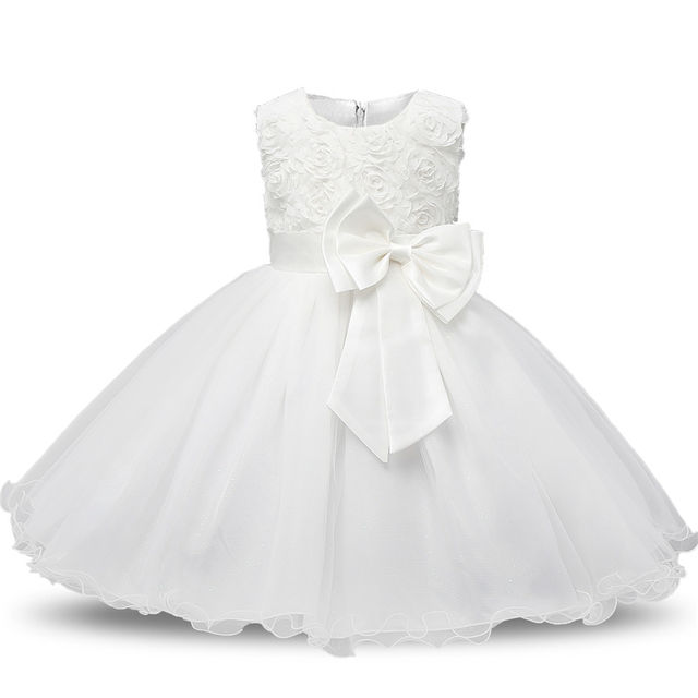 0b102b66e $17.58 Aini Babe 1 Year Birthday Party Little Dress Baby Girl Christening  Gowns Kids Events Party Wear Clothes Girls Boutique Clothing