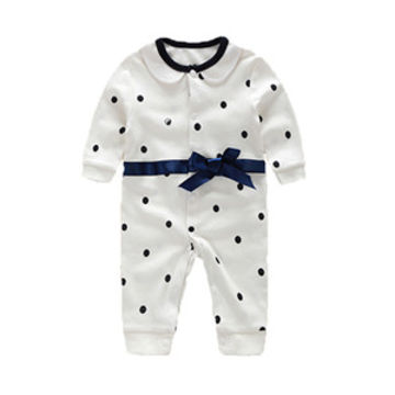 e0e34cec4  17.34 Baby Boy Rompers Pure Cotton Newborn Baby Clothes Gentleman ...