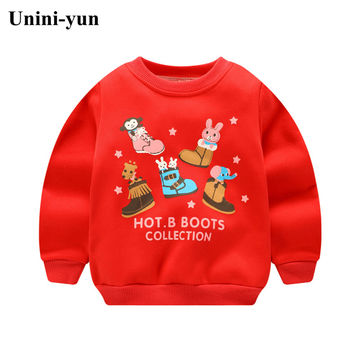 fa9258785aa  14.55 Baby Boys Sweatshirts Long Sleeve green Christmas Children T shirts  Cotton Girls Pullover Tops 2019 Kids Infant Tees Clothes