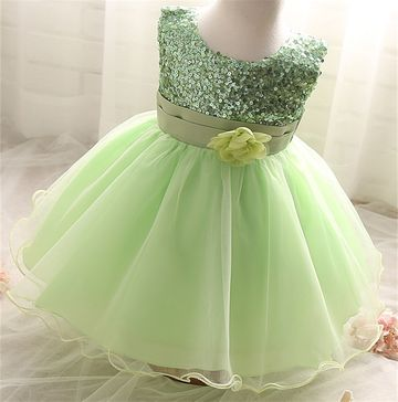 93303d756 $17.79 Baby Girl Dress Wedding Baptism Princess Dresses for Flower Girls  kids Clothes Newborn 1 year Birthday Tutu infant Dress girl