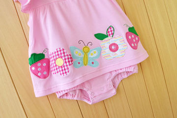 690e64ed6  16.54 Baby Girl Rompers Summer Girls Clothing Sets Roupas Bebes ...