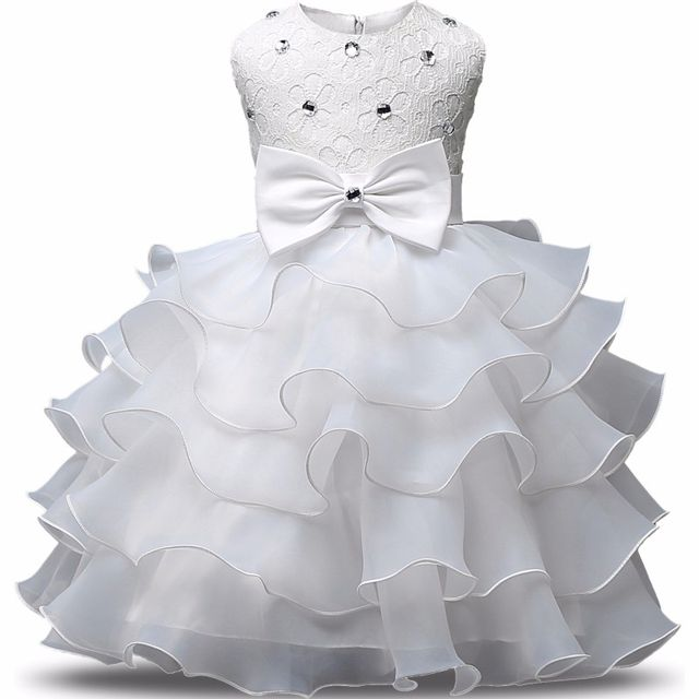 $18.98 Baby Girls First Birthday Communion Dresses Kid Clothes Party ...