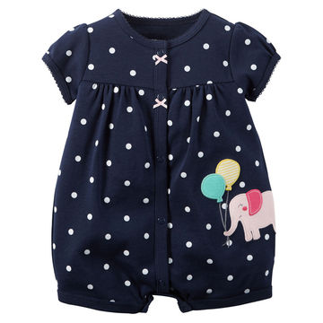 7304cfbc71d47 Baby Rompers Summer Baby Girl Clothes 2019 Baby Girl Dress Cotton Newborn  Baby Clothes Roupas Bebe Infant Jumpsuits Kids Clothes