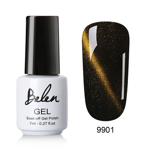 $5.04 Belen Cat Eye Gel Nail Art Magnetic Soak Off Led UV Gel Nail ...