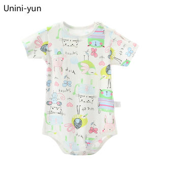 214a65a7e76  11.68 Brand Baby Clothes Pajamas Newborn Baby Rompers Cartoon Infant Short  Sleeve Jumpsuits Boy Girl Autumn Spring Unisex Baby Clothes