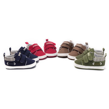 a48463525 1  2  3  4  5  6  7. CHICHIMAO Infant Babies Boy Girl Shoes Sole Soft  Canvas Solid Footwear For Newborns Toddler Crib Moccasins 4 Colors Available