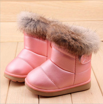 271fbd07c 1; 2; 3; 4; 5; 6; 7. COMFY KIDS Winter Fashion child girls snow boots shoes  warm plush soft bottom baby ...