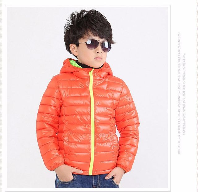41dea4632  21.83 Children s Outerwear Boy and Girl Winter Warm Hooded Coat ...