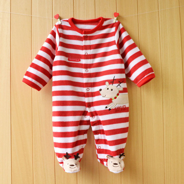 $16.96 Cotton Baby Rompers Christmas Baby Boy Clothes Newborn ...