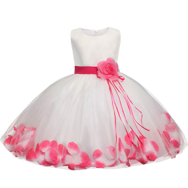 $18.88 Flower Baby Girl Baptism Dress For Wedding Toddler Fancy ...