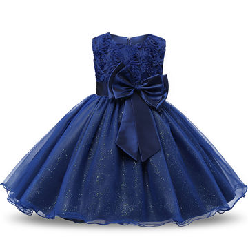 Flower Sequins Princess Toddler Girl Dress Summer 2019 Christmas Party Tutu Tulle Dresses Clothes For Children 2 3 4 5 Birthday