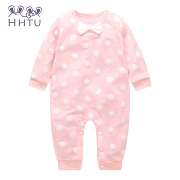 30f2649ef  18.39 HHTU Baby Rompers Long Sleeve Baby Girls Clothing Jumpsuits ...