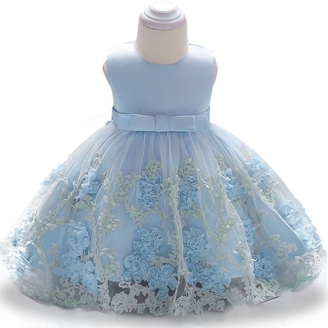 $21.78 Hot Sale Baby Girl Princess Ball Gown Dress Flower Lace ...