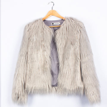 47bad97d5f25  23.48 Ins Stylish Fur Jackets For Girls Early Spring Kids Jackets ...