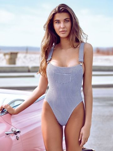 a961afaa1c $28.24 JABERAI One Piece Swimsuit 2019 Monokini Backless Swimwear Women  Push Up Biquini Halter Beachwear Strappy Bathing Suit QE333