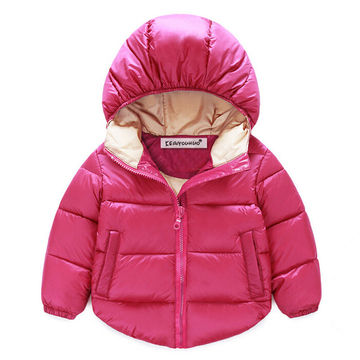 ad525d34f Jackets For Girls Clothes New 2019 Girls Winter Down Jackets Baby Boys  Coats Hooded Long Sleeve Kids Outerwear Children Clothing