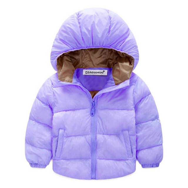 f7f9f1408 Jackets For Girls Clothes New 2019 Girls Winter Down Jackets Baby Boys  Coats Hooded Long Sleeve Kids Outerwear Children Clothing