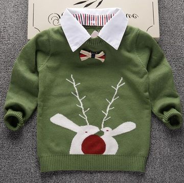 cc2398fd0  22.50 Knitted Sweater for boys 2019 Autumn Winter Boys Sweater ...
