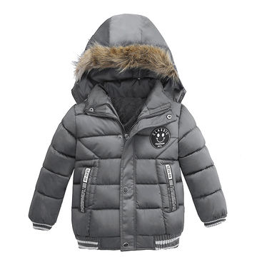 7f9358946  24.72 LZH Baby Boys Jacket 2019 Winter Jackets For Boys Bees Hooded ...