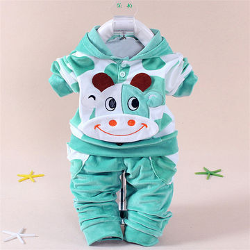 a1a4ee9f15f8b $17.36 LZH Newborn Boys Clothes 2019 Spring Baby Girls Clothes Rabbit  Hoodie+Pants Easter Outfits Baby Sport Suit Infant Clothing Set