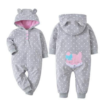 New 2019 baby costume cute camo baby jumpsuit coat for baby boy clothes ,  fleece outfit infant Jacket for baby girl clothing