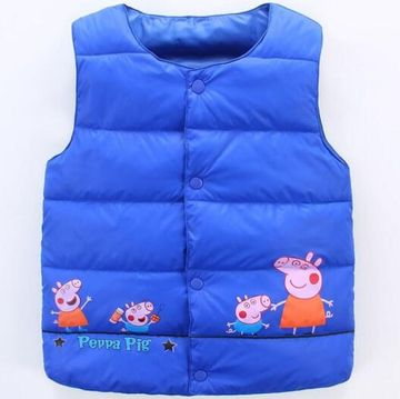 4d5140829e4c  12.11 New Fashion Baby Boys and Girls Down Jackets Vest Cartoon ...