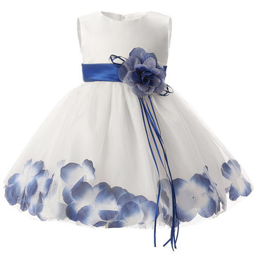 571ace644  18.88 Newborn Baby Girl 1 Year Birthday Dress Petals Tulle Toddler ...